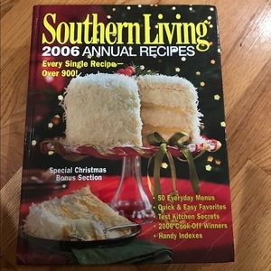Southern Living: 2006 Annual Recipes Hardcopy
